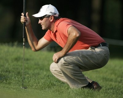 David McKenzie of Australia during the first round of the Cialis Western Open on the No. 4 Dubsdread course at Cog Hill Golf and Country Club in Lemont, Illinois on July 6, 2006.Photo by Michael Cohen/WireImage.com
