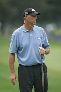 Tom Lehman during the first round of the 88th PGA Championship at Medinah Country Club in Medinah, Illinois, on August 17, 2006.Photo by Christopher Condon/WireImage.com