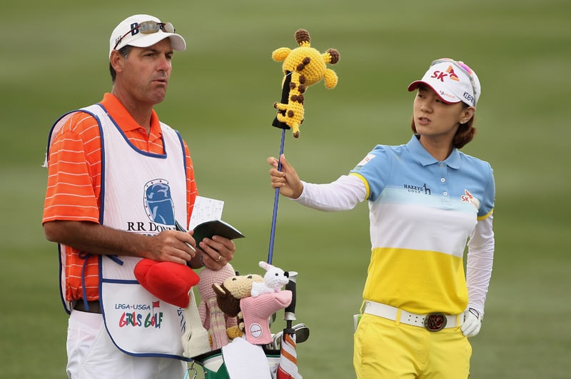 Na Yeon Choi in the RR Donnelley LPGA Founders Cup