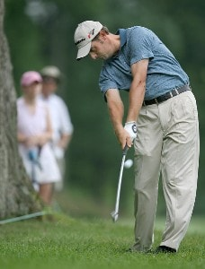 Jeff Gove of Washington in the rough  during third round at TPC Avenel on Saturday, June 24, 2006, in Potomac, Maryland.Photo by Jim Rogash/WireImage.com