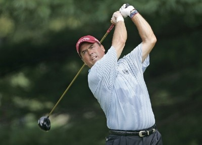 Olin Browne during the third round of the 2006 WGC-Bridgestone Invitational held on the South Course at Firestone Country Club in Akron, Ohio, on August 26, 2006.Photo by Chris Condon/PGA TOUR/WireImage.com