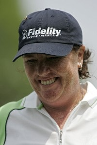 Meg Mallon during the second round of the LPGA Michelob ULTRA Open at Kingsmill at Kingsmill Resort and Spa in Williamsburg, Virginia on May 11, 2007Photo by Michael Cohen/WireImage.com
