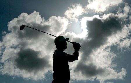 KAPALUA, HI - JANUARY 06:  Daniel Chopra of Sweden hits a tee shot on the 17th hole during the final round of the Mercedes-Benz Championship on at the Plantation Course January 6, 2008 in Kapalua, Maui, Hawaii.  (Photo by Jeff Gross/Getty Images)
