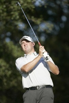 Jon Mills during the first round of the Nationwide Tour Championship held  on the Senator course at Capitol Hill GC in Prattville, Alabama on Thursday, October 27, 2005.Photo by Sam Greenwood/WireImage.com