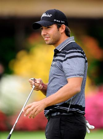TURIN, ITALY - MAY 09:  Pablo Larrazabal of Spain during the final round of the BMW Italian Open at Royal Park I Roveri on May 9, 2010 in Turin, Italy.  (Photo by Stuart Franklin/Getty Images)