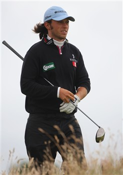 SOUTHPORT, UNITED KINGDOM - JULY 19:  Martin Wiegele of Austria looks on from the 16th tee during the third round of the 137th Open Championship on July 19, 2008 at Royal Birkdale Golf Club, Southport, England.  (Photo by Andrew Redington/Getty Images)