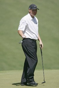 Chad Campbell during the first round of the 2007 Masters at the Augusta National Golf Club in Augusta, Georgia, on April 5, 2007. The 2007 Masters - First RoundPhoto by Hunter Martin/WireImage.com