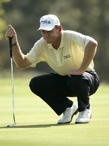 Nick Price on the 12th hole during the first round of the 2006 FUNAI Classic at WALT DISNEY WORLD Resort on the Palm Course and the Magnolia Course in Lake Buena Vista, Florida, on October 19, 2006. PGA TOUR - 2006 FUNAI Classic at the WALT DISNEY WORLD Resort - First RoundPhoto by Sam Greenwood/WireImage.com