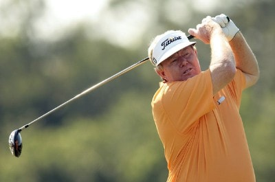 Andy Bean during the second round of the 2007 Allianz Championship at the Old Course at Broken Sound Club in Boca Raton, Florida on February 10, 2007. Champions Tour - 2007 Allianz Championship - Second RoundPhoto by Pete Fontaine/WireImage.com