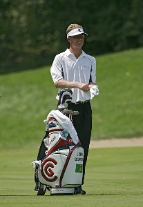 John Senden  during the third round of the John Deere Classic at TPC at Deere Run in Silvis, Illinois on July 15, 2006.Photo by Michael Cohen/WireImage.com