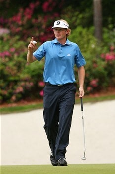 AUGUSTA, GA - APRIL 12:  Brandt Snedeker walks off the 13th green during the third round of the 2008 Masters Tournament at Augusta National Golf Club on April 12, 2008 in Augusta, Georgia.  (Photo by Andrew Redington/Getty Images)