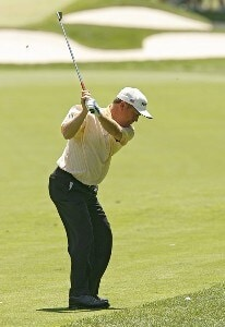 Jeff Sluman during the first round of the 2006 U.S. Open Golf Championship at Winged Foot Golf Club in Mamaroneck, New York on June 15, 2006.Photo by Mike Ehrmann/WireImage.com