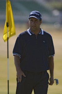 Jose Maria Olazabal during the Monday practice round on July 17, 2006 at the 2006 Open Championship held at Royal Liverpool Golf Club in Hoylake, EnglandPhoto by Marc Feldman/WireImage.com