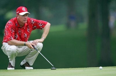 Woody Austin during the third round of the 88th PGA Championship at Medinah Country Club in Medinah, Illinois, on August 19, 2006.Photo by Sam Greenwood/WireImage.com