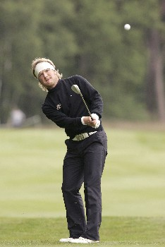 Pelle Edberg during the second round of the 2005 KLM Open at Hilversumsche Golf Club in the Netherlands on June 10, 2005.Photo by Pete Fontaine/WireImage.com