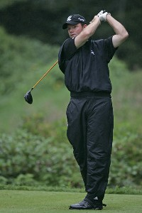 Shaun Micheel during the third round of the 2006 Deutsche Bank Championship held at TPC Boston in Norton, Massachusetts on September 3, 2006.Photo by Michael Cohen/WireImage.com