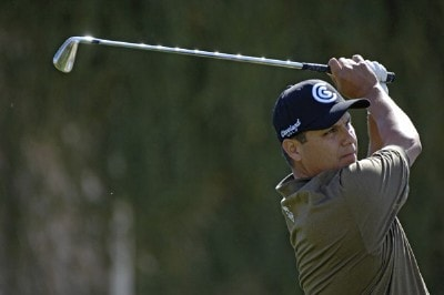 Omar Uresti in action during the first round of the 2006 Chrysler Classic of Tucson on February 23, 2006 at the Omni Tucson National Golf Resort and Spa in Tucson, ArizonaPhoto by Marc Feldman/WireImage.com