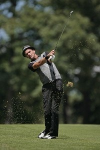 Jesper Parnevik on the first fairway during the fourth and final round of the Buick Open held at Warwick Hills Golf & Country Club in Grand Blanc, Michigan, on July 1, 2007. Photo by: Chris Condon/PGA TOURPhoto by: Chris Condon/PGA TOUR