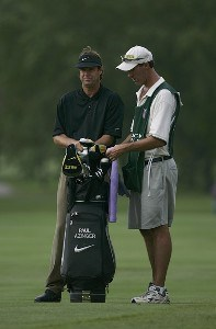 Paul Azinger during the first round of the Buick Open at Warwick Hills Golf and Country Club in Grand Blanc, Michigan on August 3, 2006.Photo by Michael Cohen/WireImage.com