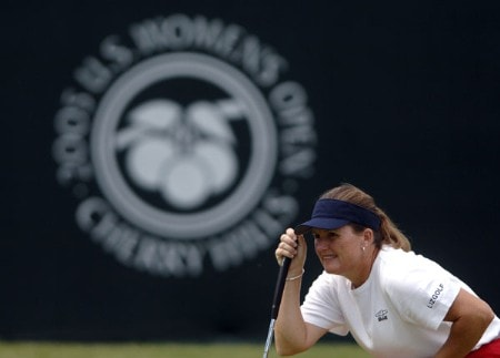 Lorie Kane in action during the final round of the 2005 U.S. Women's Open at Cherry Hills Country Club in Englewood, Colorado, June 26, 2005.Photo by Steve Grayson/WireImage.com
