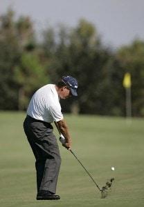 Steve Elkington during the first round of the Merrill Lynch Shootout at the Tiburon Golf Club in Naples, Florida on November 10, 2006. PGA TOUR - 2006 Merrill Lynch Shootout - First RoundPhoto by Michael Cohen/WireImage.com