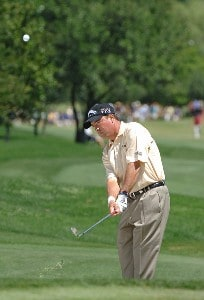 Olin Browne during the first round of the EDS Byron Nelson Championship held at the TPC Players Course and the Cottonwood Valley Course on Thursday, May 11, 2006 in Irving, TexasPhoto by Marc Feldman/WireImage.com
