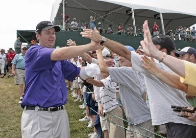 J.J. Henry wins the 2006 Buick Championship held at TPC River Highlands in Cromwell, Connecticut, on July 2, 2006.Photo by: Chris Condon/PGA TOUR