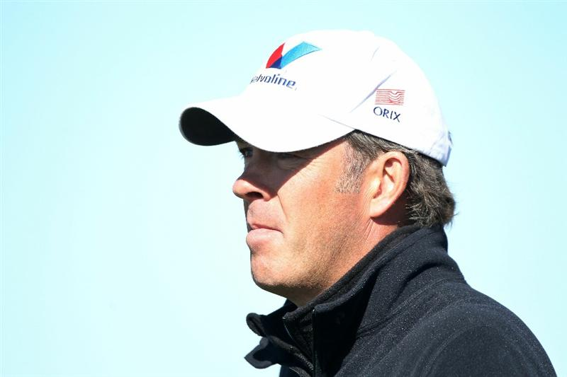 MARANA, AZ - FEBRUARY 23:  Richard Green of Australia looks on during the first round of the Accenture Match Play Championship at the Ritz-Carlton Golf Club on February 23, 2011 in Marana, Arizona.  (Photo by Andy Lyons/Getty Images)