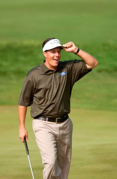 Phil Mickelson at the 2004 Players Championship