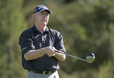 Hale Irwin during the first round of the Charles Schwab Cup Championship held at Sonoma Golf Club in Sonoma, California, on October 26, 2006. Photo by: Chris Condon/PGA TOURPhoto by: Chris Condon/PGA TOUR