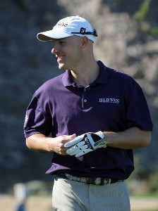 Ben Crane smiles on the sixth green hole during the fourth round of the 49th Bob Hope Chrysler Classic at the Silverrock Resort on January 19, 2008 in La Quinta, California. PGA TOUR - 2008 Bob Hope Chrysler Classic - Round FourPhoto by Harry How/Getty Images