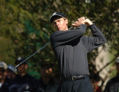 Bob Estes hits from the fourth tee during the third round of the 2006 Nissan Open, Presented by Countrywide at Riviera Country Club in Pacific Palisades, California February 18, 2006.Photo by Steve Grayson/WireImage.com