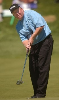 Billy Mayfair in action during the third round of the 2005 The INTERNATIONAL at Castle Pines Golf Club in Castle Rock, Colorado August 7, 2005.Photo by Steve Grayson/WireImage.com