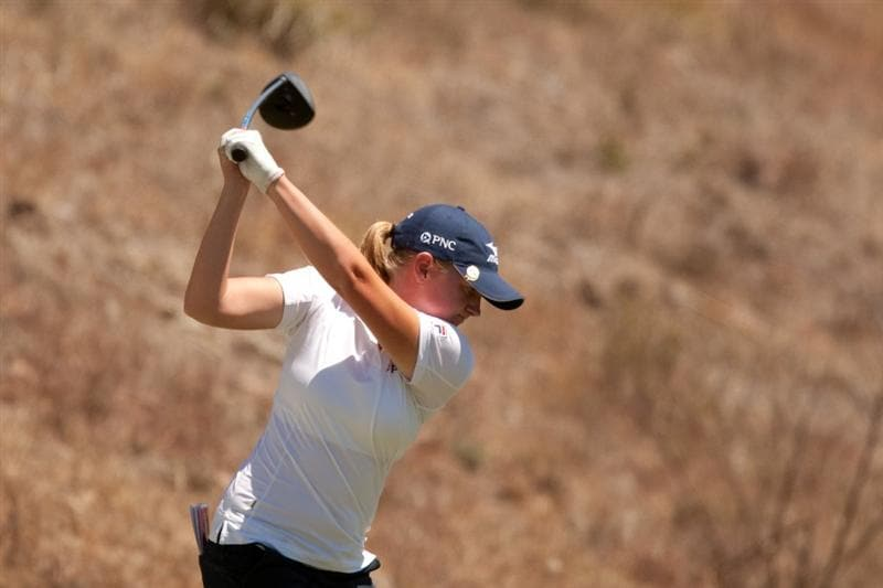 MORELIA, MEXICO - MAY 2: Stacy Lewis hits a tee shot during the fourth round of the Tres Marias Championship at the Tres Marias Country Club on May 2, 2010 in Morelia, Mexico. (Photo by Darren Carroll/Getty Images)