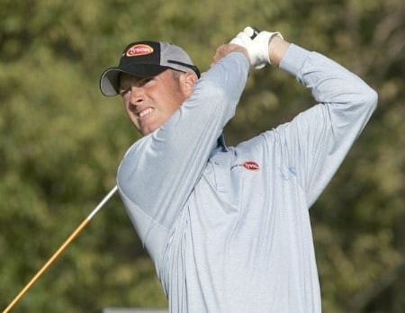 Tag Ridings in action during the second round of the Southern Farm Bureau Classic at Annandale Golf Club in Madison, Mississippi on November 4, 2005.Photo by Michael Cohen/WireImage.com