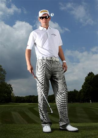 VIRGINIA WATER, ENGLAND - MAY 18:  Marcel Siem of Germany poses for a portrait prior to the BMW PGA Championship on the West Course at Wentworth on May 18, 2010 in Virginia Water, England.  (Photo by Warren Little/Getty Images)
