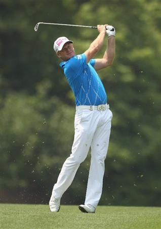 CHENGDU, CHINA - APRIL 24:  Jamie Donaldson of Wales in action during day four of the Volvo China Open at Luxehills Country Club on April 24, 2011 in Chengdu, China.  (Photo by Ian Walton/Getty Images)