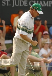 Woody Austin wins the Stanford St. Jude Championship at the TPC Southwind on Sunday, June 10, 2007 in Memphis, Tennessee PGA TOUR - 2007 Stanford St. Jude Championship - Final RoundPhoto by Marc Feldman/WireImage.com