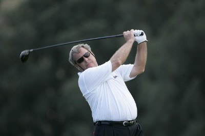 Fuzzy Zoeller in action during the first round of the 2006 Turtle Bay Championship - Turtle Bay Resort, Kahuku, Oahu, HawaiiPhoto by: Chris Condon/PGA TOUR