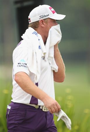 KUALA LUMPUR, MALAYSIA - APRIL 14:  Jamie Donaldson of Wales during the first round of the Maybank Malaysian Open at Kuala Lumpur Golf & Country Club on April 14, 2011 in Kuala Lumpur, Malaysia.  (Photo by Ian Walton/Getty Images)