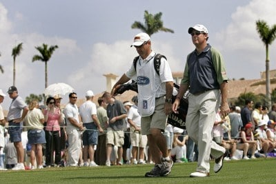 Rich Beem competes in the third round of the Ford Championship at Doral held on the Blue Course at Doral Golf Resort and Spa, in Doral, Florida, on March 4, 2006.Photo by: Chris Condon/PGA TOUR