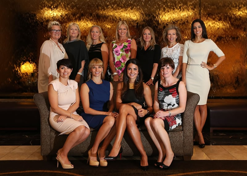 European Ryder Cup wives and girlfriends