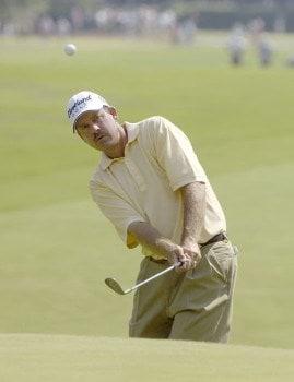Bart Bryant during the first round of the 2005 U.S. Open Golf Championship at Pinehurst Resort course 2 in Pinehurst, North Carolina on June 16, 2005.Photo by Marc Feldman/WireImage.com