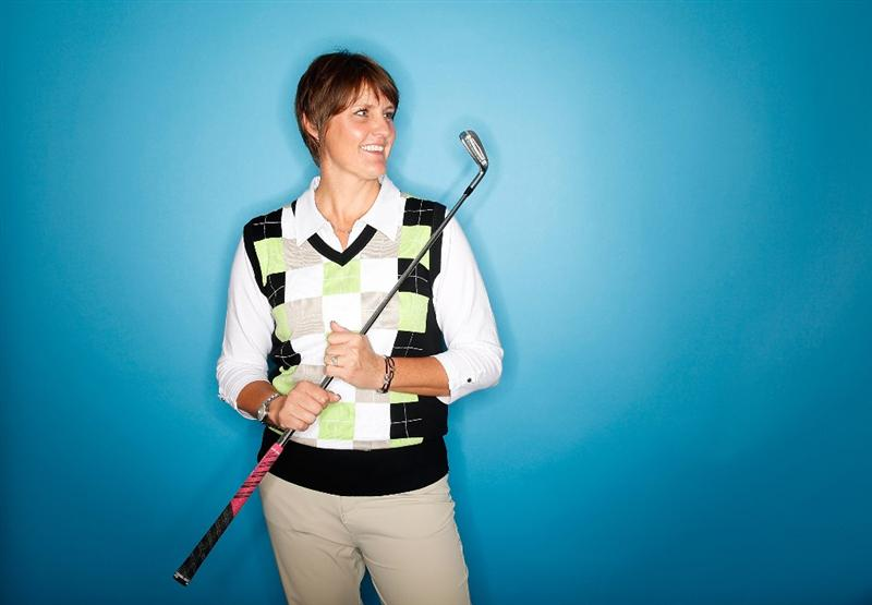 CITY OF INDUSTRY, CA - MARCH 22:  Maria Hjorth of Sweden poses for a portrait on March 22, 2011 at the Industry Hills Golf Club in the City of Industry, California.  (Photo by Jonathan Ferrey/Getty Images)