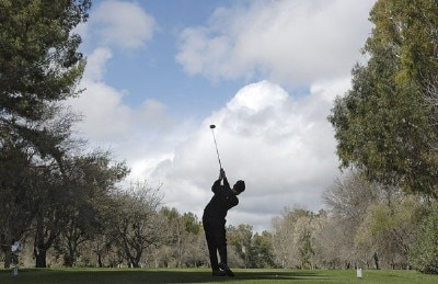 Bruce Fleisher in action during the first round of the 2006 AT&T Classic on Friday, March 10, 2006 at  Valencia Country Club in Valencia, CaliforniaPhoto by Marc Feldman/WireImage.com