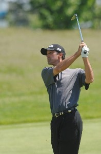Glen Hnatiuk in action during the first round of the Nationwide Tour 2006 LaSalle Bank Open at the The Glen Club in Glenview, Illinois on June 8, 2006.Photo by Steve Grayson/WireImage.com