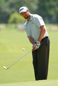 Mark Hensby during first round of the Bank of America Colonial held at the Colonial Country Club on Monday, May 18, 2006 in Ft. Worth, TexasPhoto by Marc Feldman/WireImage.com