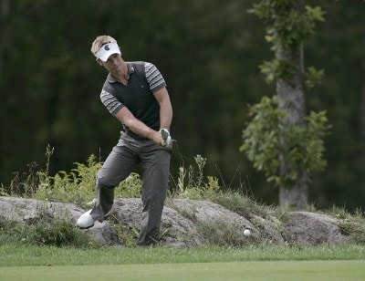 Richard S. Johnson during the first round of the 2006 Deutsche Bank Championship held at TPC Boston in Norton, Massachusetts on September 1, 2006.Photo by Michael Cohen/WireImage.com