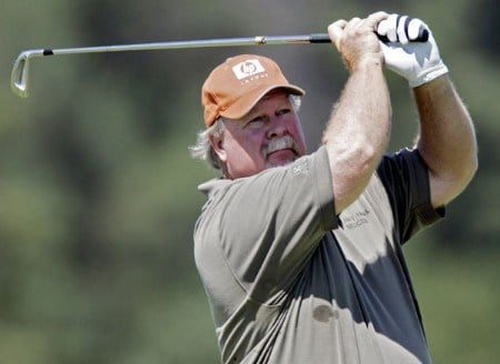 Craig Stadler in action during the second round of the 2005 3M Championship at the TPC of the Twin Cities in Blaine, Minnesota on August 6, 2005.Photo by Gregory Shamus/WireImage.com