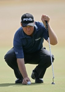 Ted Purdy during the second round of the 135th Open Championship at Royal Liverpool Golf Club in Hoylake, Great Britain on July 21, 2006.Photo by Sam Greenwood/WireImage.com